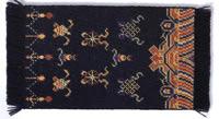 Синий буддийский настенный ковер