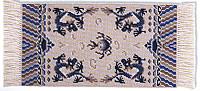 Шелковый ковер с драконами