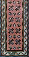 15. Фрагмент ковра с узором из звезд