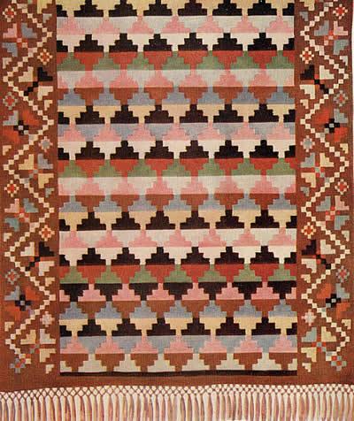 Ковровое плетение схема