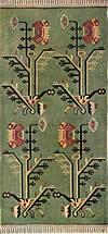 10. Ковер с изображением букетов