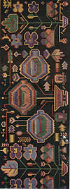 09. Фрагмент ковра — пэретара с изображением вазонов