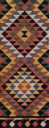 04. Фрагмент ковра — лэичера с узором из треугольных фигур