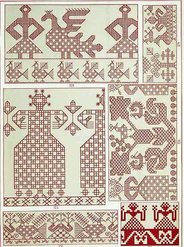 сборник узоров для вышивки