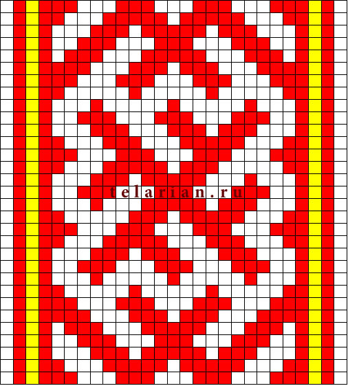 Схемы ткачества на ниту